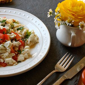 Goat-Cheese-Tomato-and-Parsley-Scramble-300x150